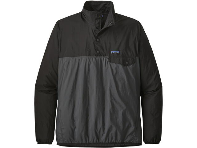 Patagonia Houdini Snap-T Pullover Hombre, forge grey